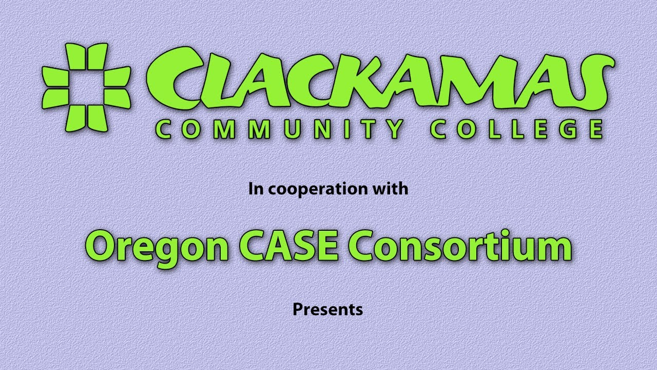 Oregon CASE Grant/Clackamas Community College Writing Mastery Course - Video 8 of 21 thumnbnail